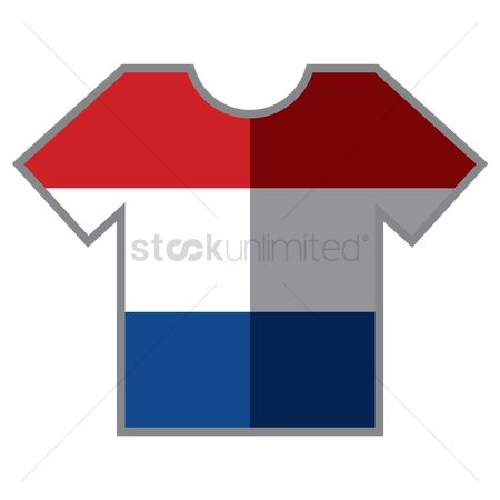 Tshirt design : T-shirts with netherland flag design