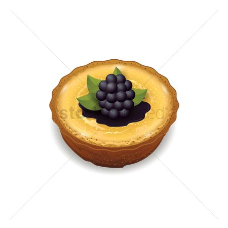 Blueberry : Tart