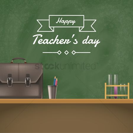Racks : Teachers day design