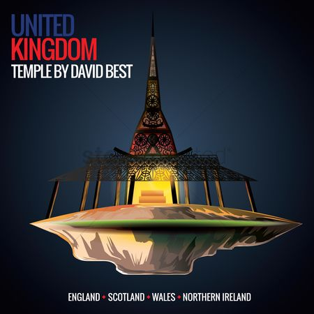 England : Temple by david best