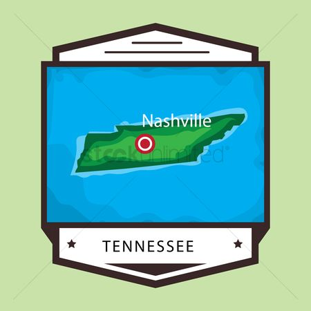 Tennessee : Tennessee map