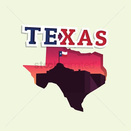 Cartography : Texas map