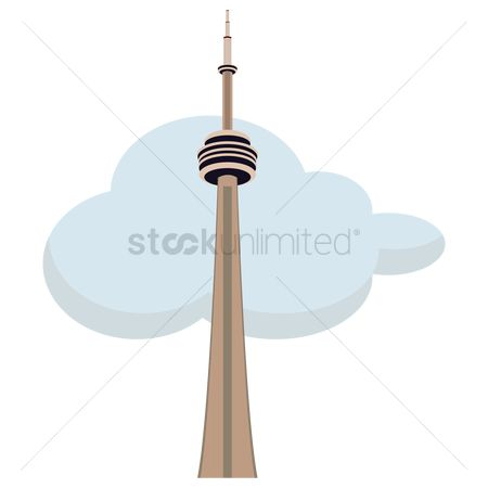 Skyscraper : The cn tower