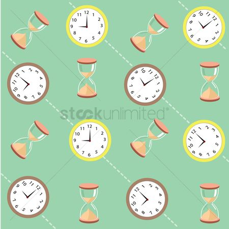 Sand clock : Time related background