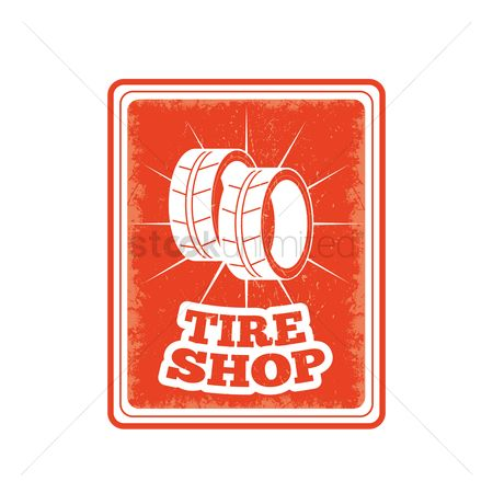 Oldfashioned : Tire shop sign