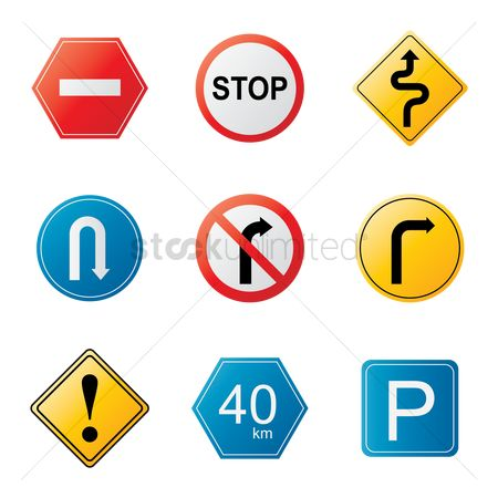 Attention : Traffic signs