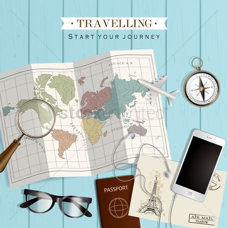 Journeys : Travel concept
