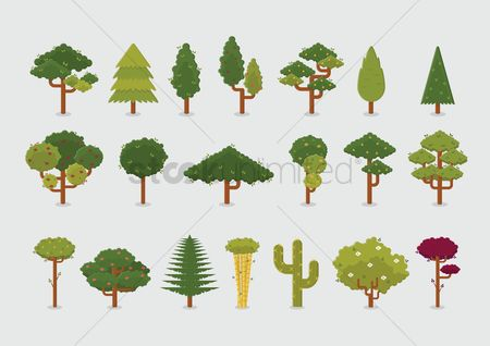 Graphic : Tree icons