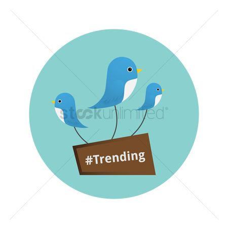 User interface : Trending icon