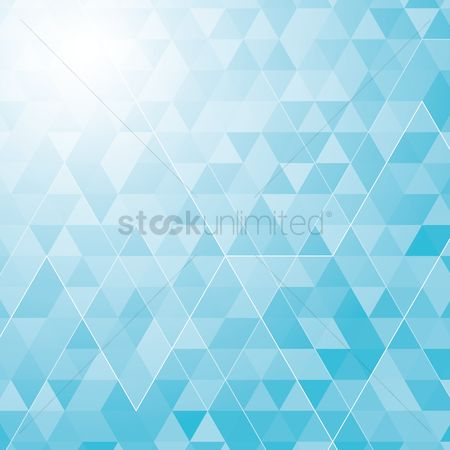 Geometrics : Triangle background