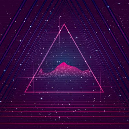 Pub : Triangular design background
