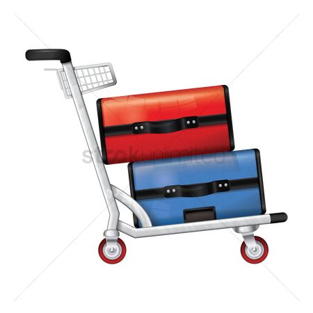 Touring : Trolley with luggage