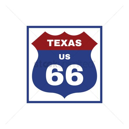 Interstates : Two-digit interstate route shield  texas