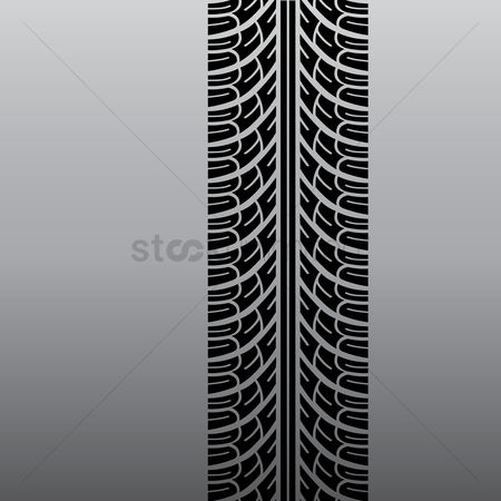 Tyre : Tyre track background