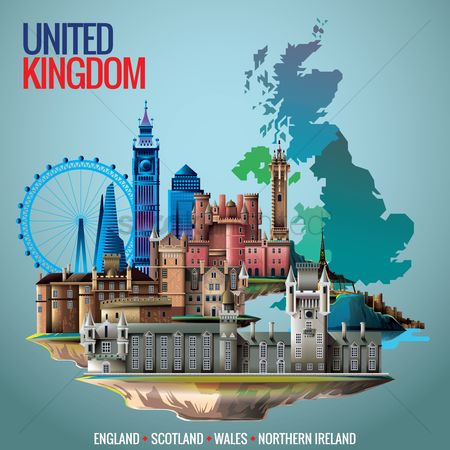Towers : United kingdom wallapaper