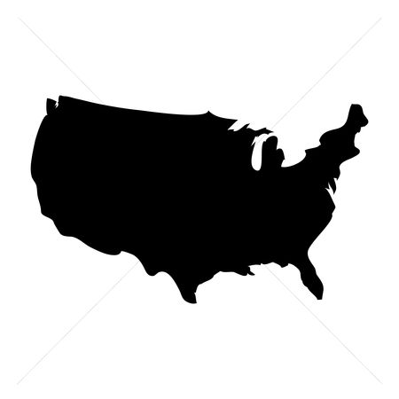 Patriotics : Usa map