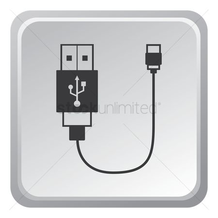 Charging icon : Usb cable