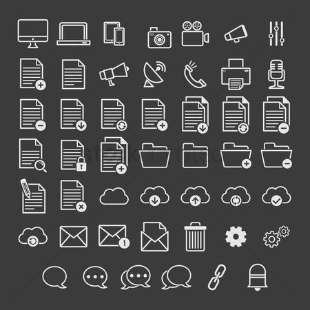 Open : User interface icons