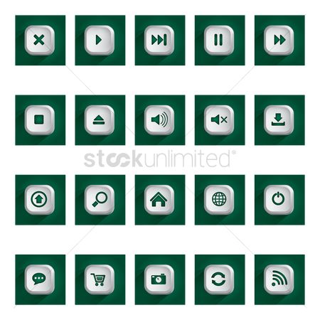 Uploads : User interface icons
