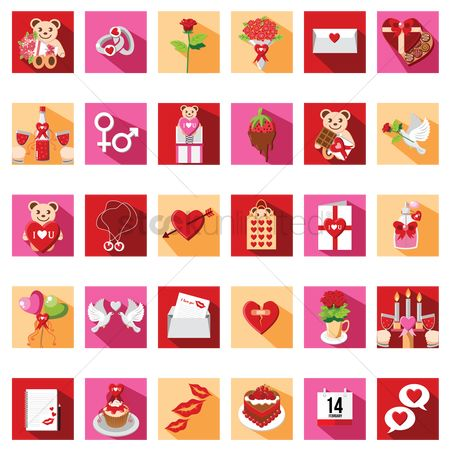Confectionery : Valentine s day collection sets