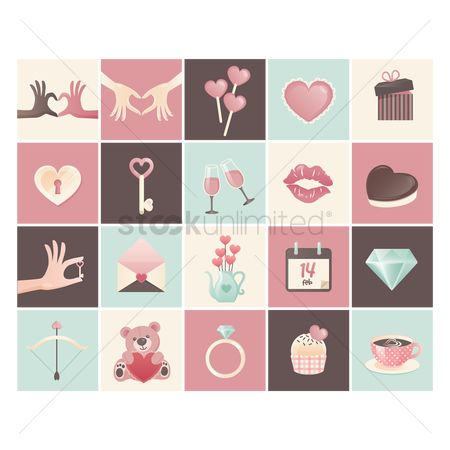 Teddybear : Valentine s day icons