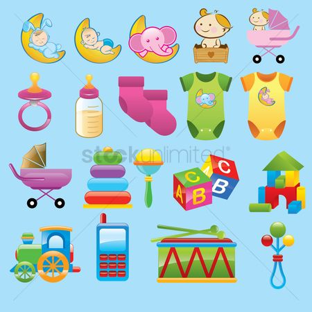 Blocks : Various baby items