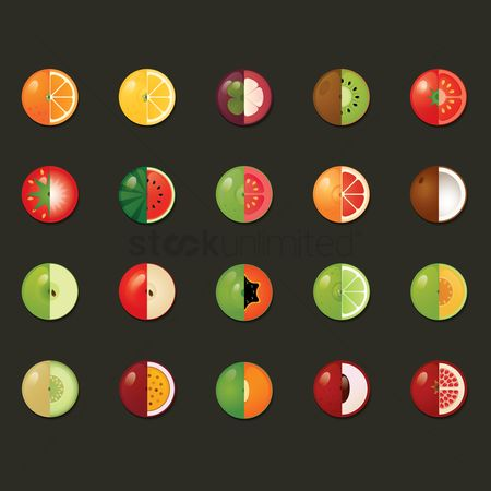 Apple : Various fruit