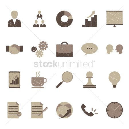 Workers : Various icon designs