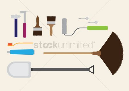 Roller brush : Various tools