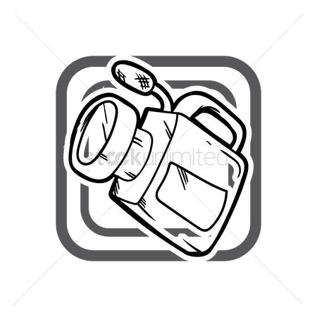 Production : Video camera icon