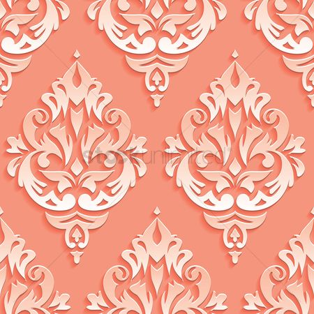 Retro : Vintage pattern background