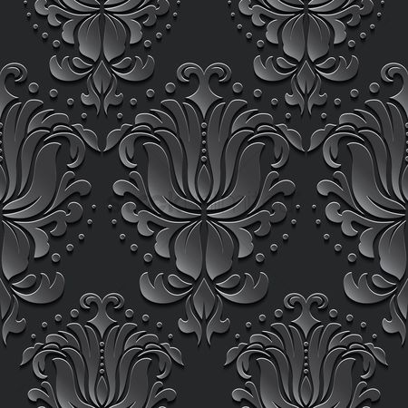 Floral : Vintage pattern background