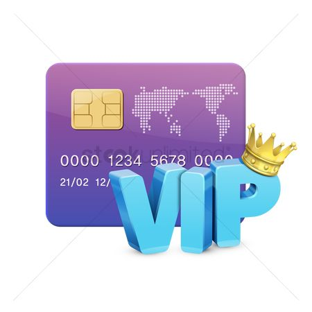 Credits : Vip credit card