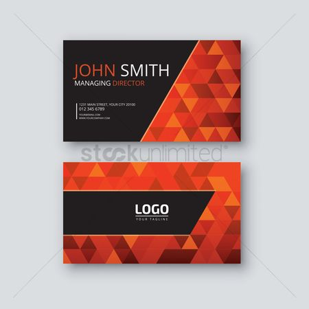Faceted : Visiting card
