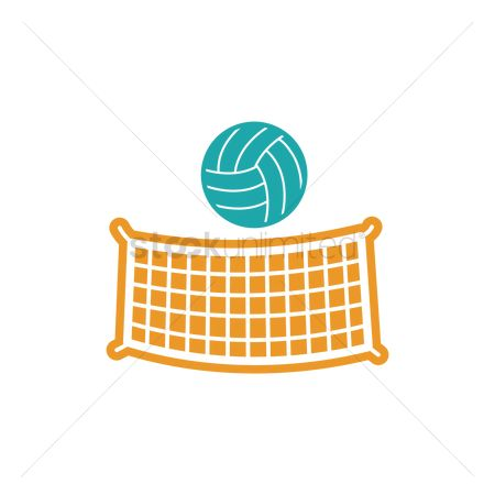 Volleyballs : Volleyball and net
