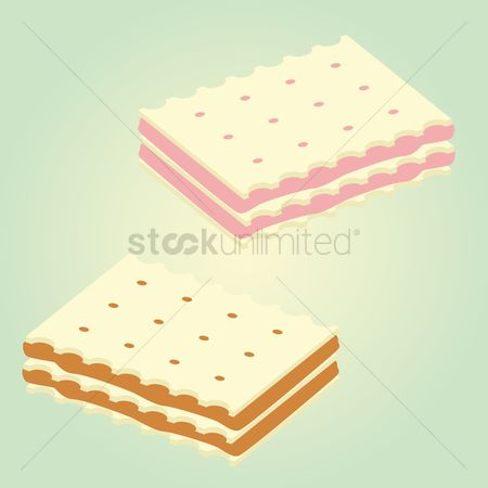 Crisp : Wafer biscuit