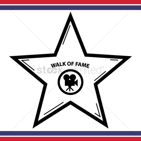 Acknowledgement : Walk of fame star