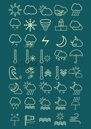 Increase : Weather icon set