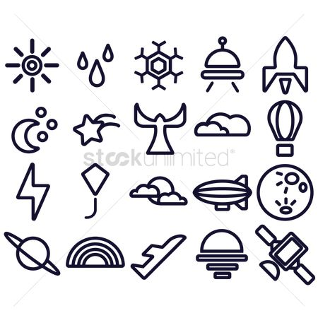 Lighting : Weather icons