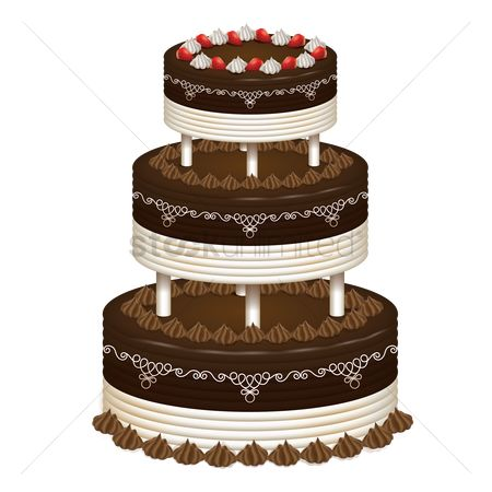Confections : Wedding cake