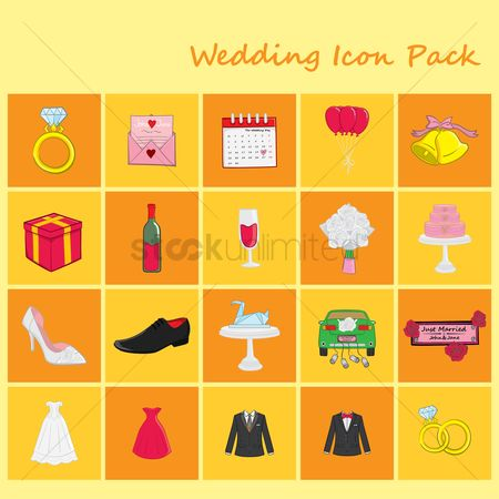 Tux : Wedding icon pack