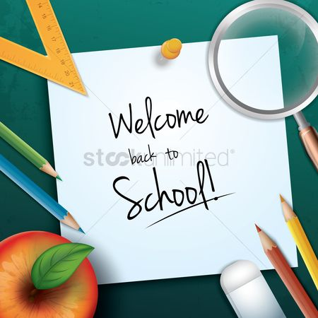 Stationary : Welcome back to school