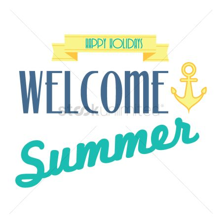 free welcome summer stock vectors stockunlimited rh stockunlimited com