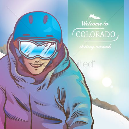 Skiing : Welcome to colorado skiing resort