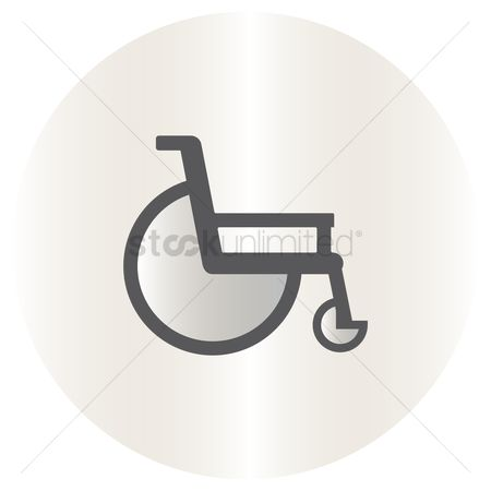 Wheelchair : Wheelchair symbol