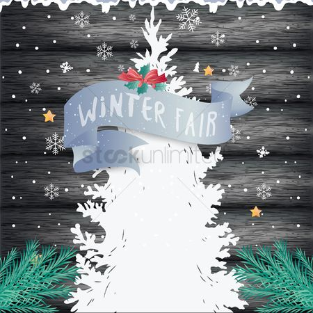 Logs : Winter fair design