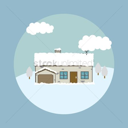 Cottage : Winter house