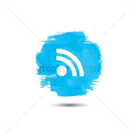 Routers : Wireless signal icon