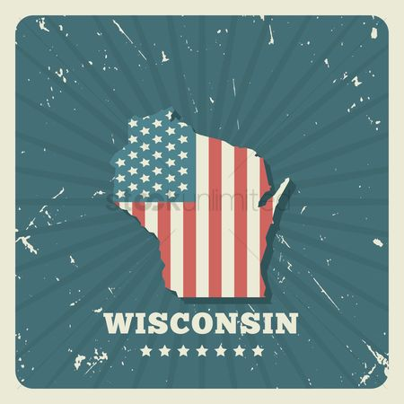 Oldfashioned : Wisconsin map