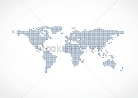 Countries : World map design